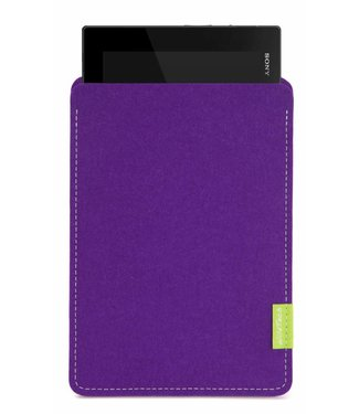 Sony Xperia Tablet Sleeve Lila