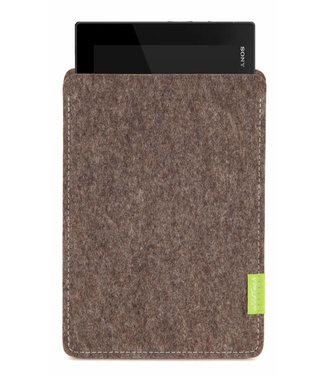 Sony Xperia Tablet Sleeve Natur-Meliert