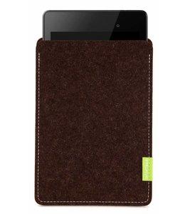 Google Pixel/Nexus Tablet Sleeve Trüffelbraun