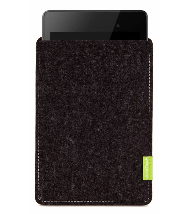 Google Pixel/Nexus Tablet Sleeve Anthrazit