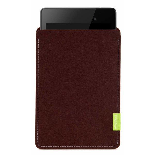 Google Pixel/Nexus Tablet Sleeve Dark-Brown