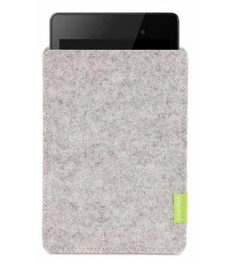 Google Pixel/Nexus Tablet Sleeve Hellgrau