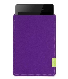 Google Pixel/Nexus Tablet Sleeve Lila