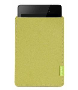 Google Pixel/Nexus Tablet Sleeve Lindgrün
