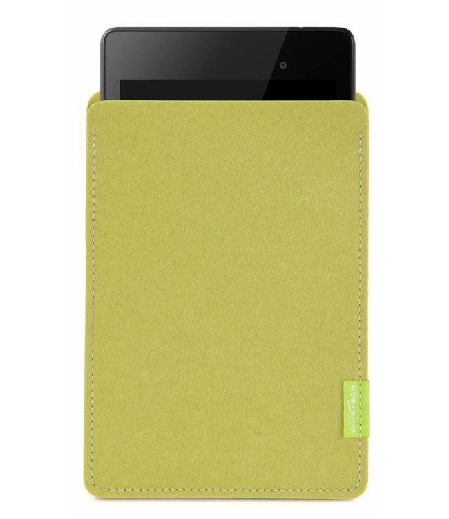 Google Pixel/Nexus Tablet Sleeve Lime-Green