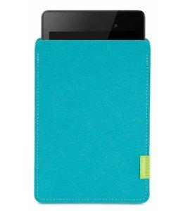 Google Pixel/Nexus Tablet Sleeve Türkis