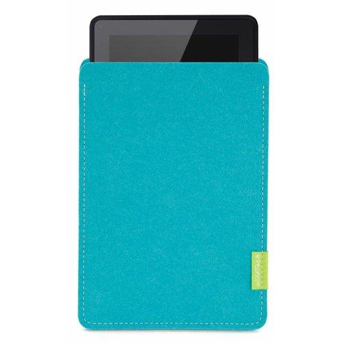 Amazon Kindle Fire Sleeve Turquoise
