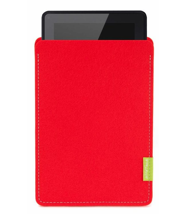 Amazon Kindle Fire Sleeve Bright-Red