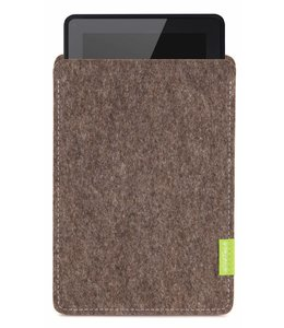 Amazon Kindle Fire Sleeve Natur-Meliert