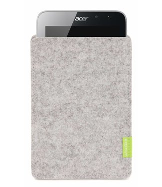 Acer Iconia Sleeve Hellgrau