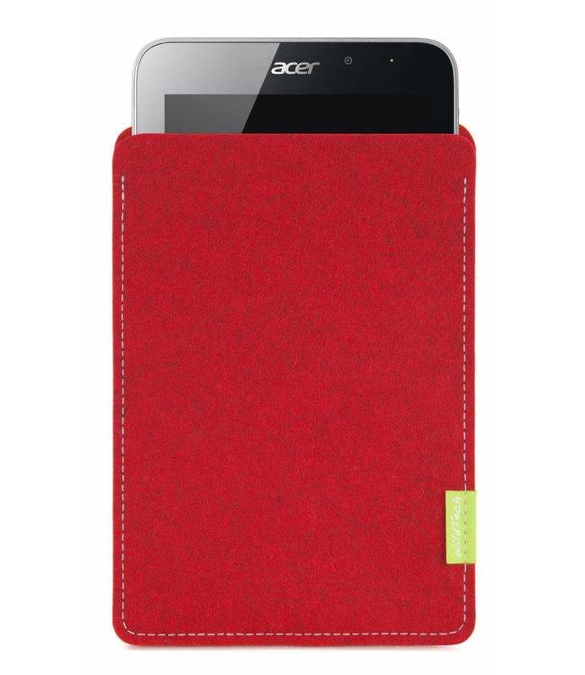 Acer Iconia Sleeve Kirschrot