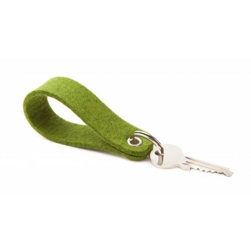 Keychain Farn-Green round