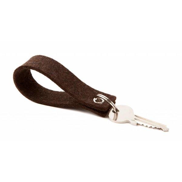 Keychain Truffle-Brown square