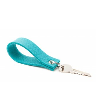 Keychain Turquoise square