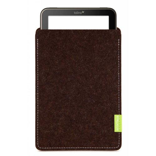 Tolino Vision/Page/Shine Sleeve Truffle-Brown