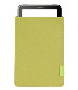Tolino Vision/Page/Shine Sleeve Lime-Green