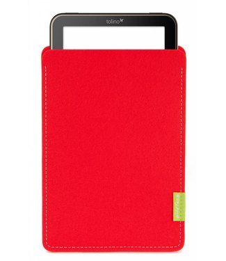 Tolino Vision/Page/Shine/Epos Sleeve Bright-Red