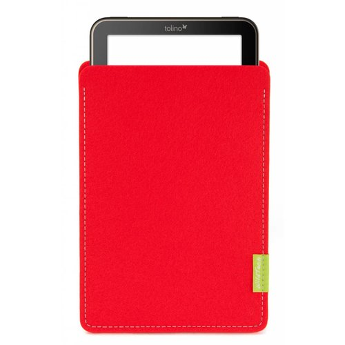 Tolino Vision/Page/Shine Sleeve Bright-Red