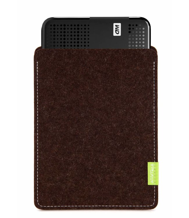 WD Passport/Elements Sleeve Trüffelbraun