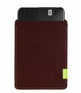 WD Passport/Elements Sleeve Dunkelbraun