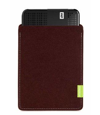 WD Passport/Elements Sleeve Dark-Brown