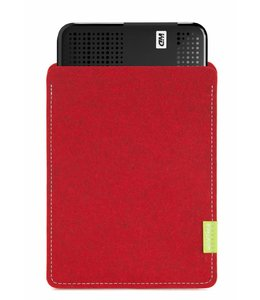 WD Passport/Elements Sleeve Kirschrot