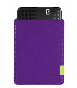 WD Passport/Elements Sleeve Lila