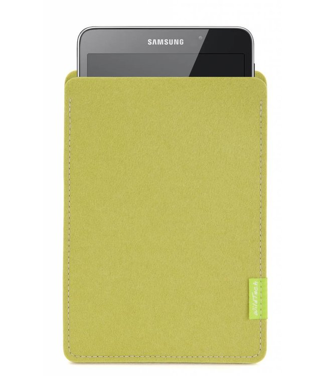 Samsung Galaxy Tablet Sleeve Lindgrün