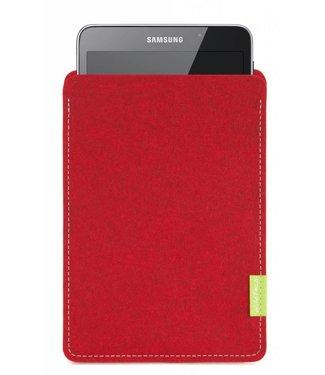 Samsung Galaxy Tablet Sleeve Kirschrot