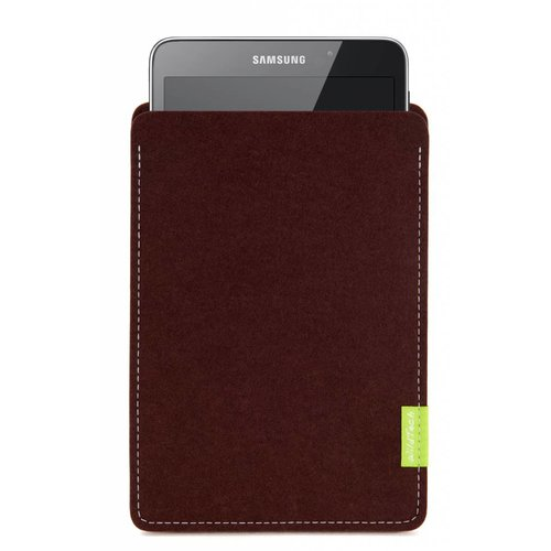 Samsung Galaxy Tablet Sleeve Dunkelbraun