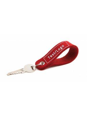 Individual Keychain Cherry Round