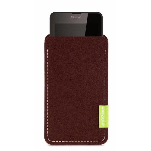 Microsoft Lumia Sleeve Dark-Brown