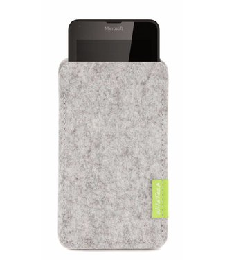 Microsoft Lumia Sleeve Hellgrau