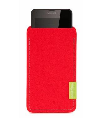 Microsoft Lumia Sleeve Hellrot