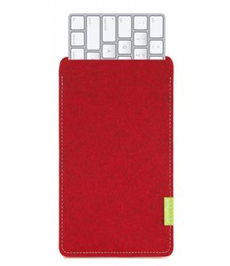Apple Magic Keyboard Sleeve Kirschrot