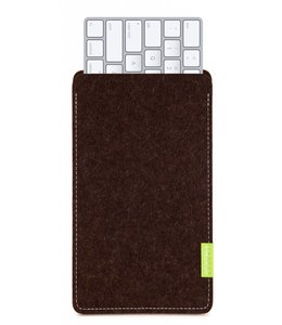 Apple Magic Keyboard Sleeve Trüffelbraun