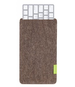 Apple Magic Keyboard Sleeve Natur-Meliert