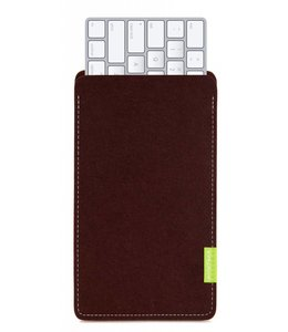 Apple Magic Keyboard Sleeve Dunkelbraun