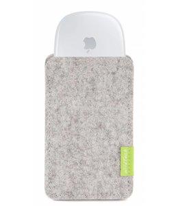 Apple Magic Mouse Sleeve Hellgrau
