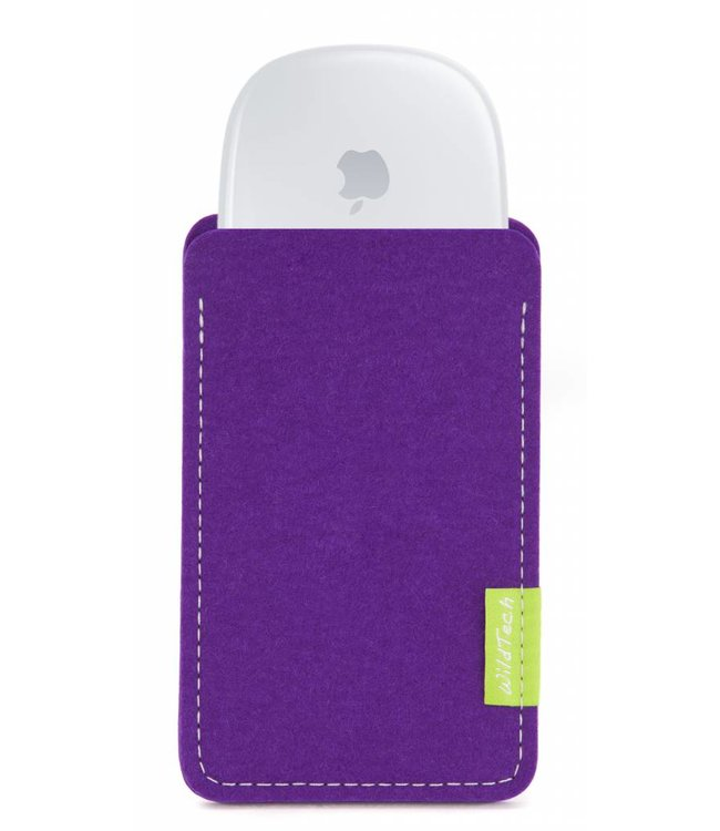 Apple Magic Mouse Sleeve Lila