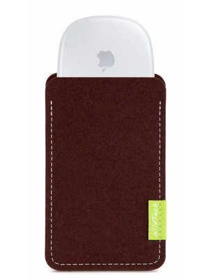 Apple Magic Mouse Sleeve Dunkelbraun