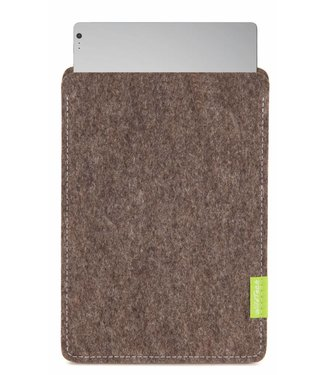Microsoft Surface Book/Laptop Sleeve Natur-Meliert