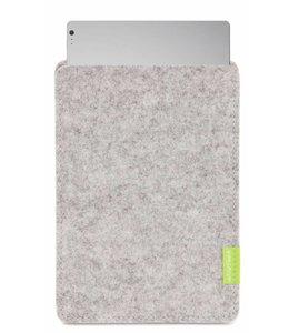 Microsoft Surface Book/Laptop Sleeve Hellgrau
