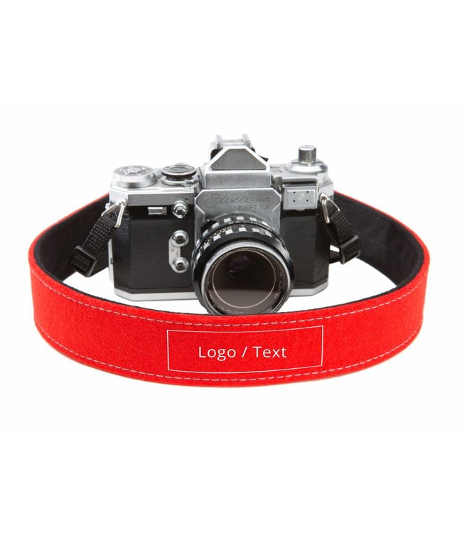 Individual CameraStrap Bright-Red