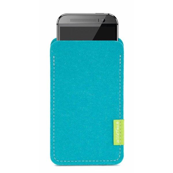 HTC One/Desire Sleeve Turquoise