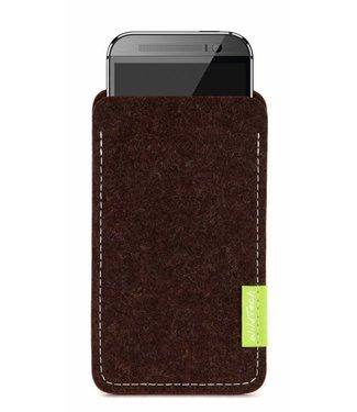 HTC U / Desire / One Sleeve Trüffelbraun