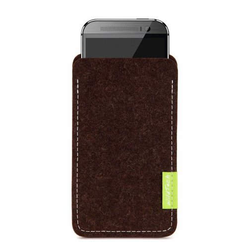 HTC One/Desire Sleeve Truffle-Brown