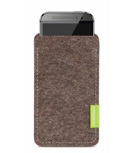 HTC One/Desire Sleeve Natur-Meliert