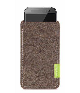 HTC U / Desire / One Sleeve Natur-Meliert