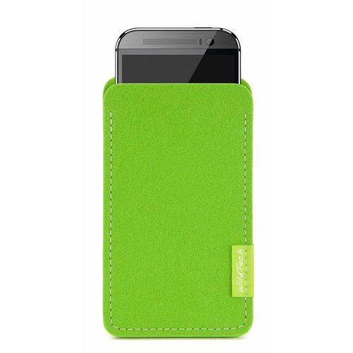 HTC One/Desire Sleeve Bright-Green